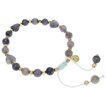 Lola Rose Tallia Bracelet Light Blue Waterlily Serpentine