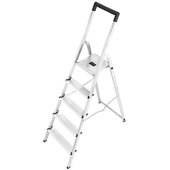 Hailo Aluminum ladder L40 Easyclix (8 Steps) (DIY , Tools , Stairs and stools)