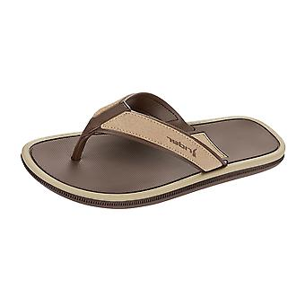 Rider Majorca Mens Flip Flops / Sandals - Brown Beige