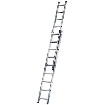 Hailo Stretches Aluminum ladder slide 2 Duo (2X15 Treads) (DIY , Construction , Stairs)