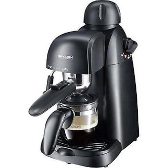 Espresso machine Severin Black 800 W incl. frother nozzle