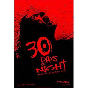 30 дней ночи кино плакат (11 x 17)