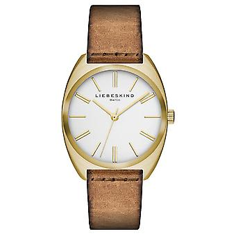 LIEBESKIND BERLIN ladies watch wristwatch leather LT-0028-LQ