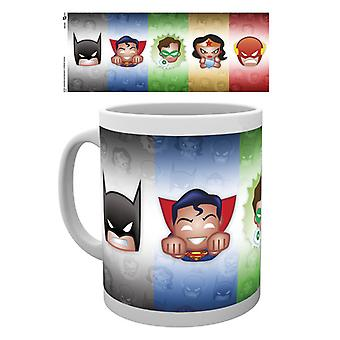DC Comics Emoji Jla Mug