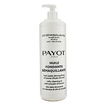 Payot Les Demaquillantes Huile Fondante Demaquillante Milky Cleansing Oil - For All SKin Types (Salon Size) - 1000ml/33.8oz