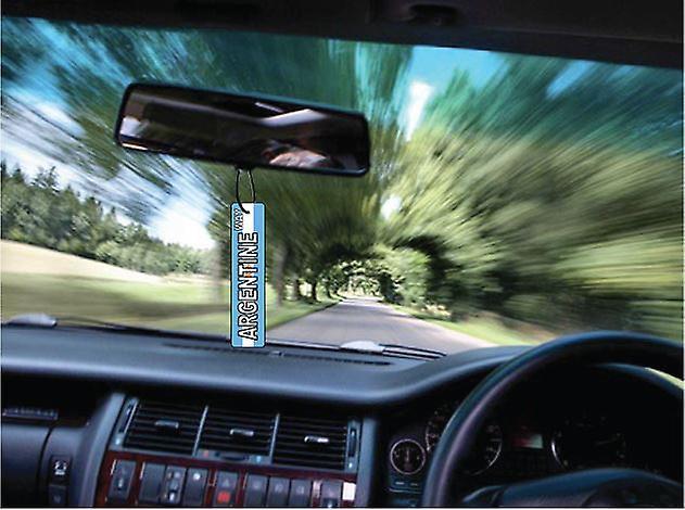 Argentijnse manier straatnaambord auto luchtverfrisser
