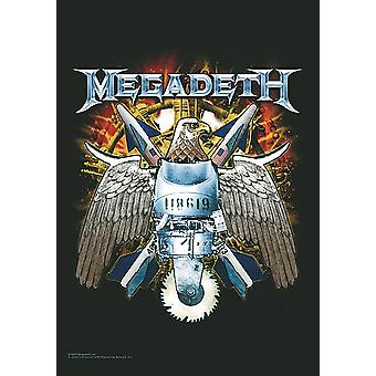 Megadeth Eagle large fabric poster / flag 1100mm x 750mm (hr)