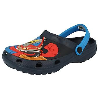 Boys Character Swap Force Casual Clogs Skylanders - Navy Manmade - UK Size 13 - EU Size 32 - US Size 1