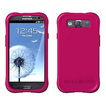 Ballistic Life Style Smooth Case for Samsung Galaxy S3 (Pink)