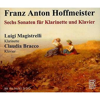 Hoffmeister / Magistrelli / Bracco - seks sønner for klarinet [CD] USA import