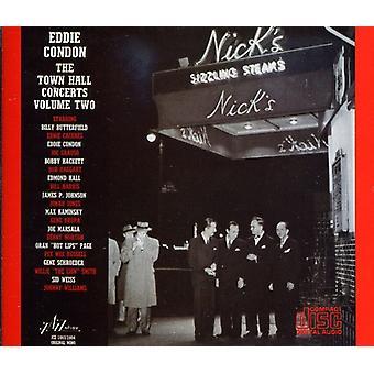 Eddie Condon - Eddie Condon: Vol. 2-Town Hall koncerter [CD] USA import