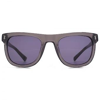Hook LDN Latitude Chunky Wayfarer Acetate Sunglasses In Grey