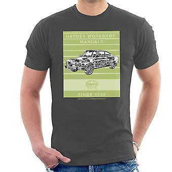 Haynes Workshop manuelle 0303 Skoda 110R Stripe Herren T-Shirt