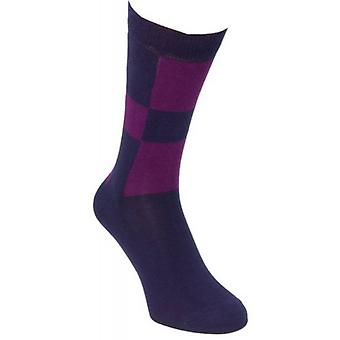 40 Colori Racing Socks - Navy/Purple