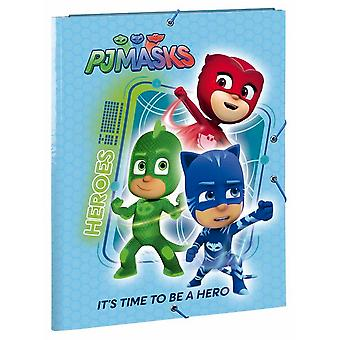 Safta Carpeta Folio 3 Solapas Pjmasks (Toys , School Zone , Notebooks And Folders)