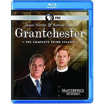 Masterpiece Mystery - Grantchester: Season 3 [Blu-ray] USA import
