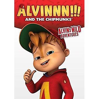 Alvinnn & de frække jordegern: Alvins vilde eventyr [DVD] USA import