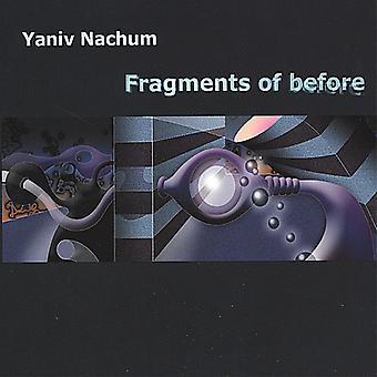 Yaniv Nachum - fragmenten van vóór [CD] USA import