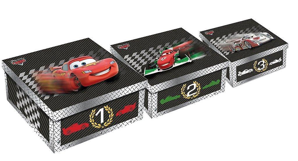 Cartons Boîtes Cars Set 3 Disney De TlFK1Juc3