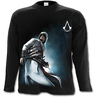 Spiral - ALTAIR SIDE PRINT - Assassins Creed Men's Longsleeve T-Shirt Black