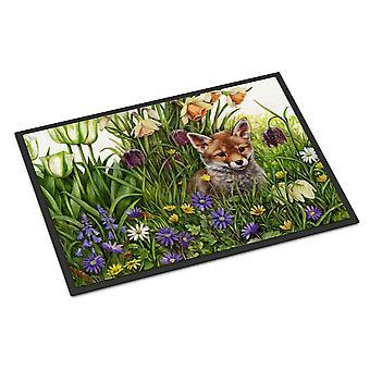 April Fox av Debbie Cook inomhus eller utomhus mattan 24 x 36