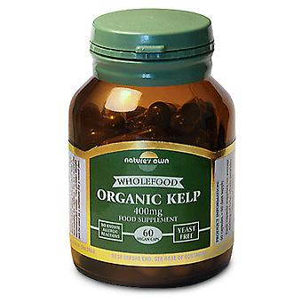 Natures Own Organic Kelp 400mg 60caps