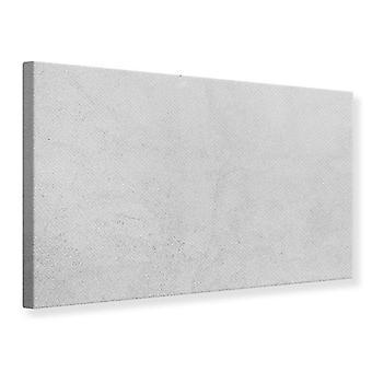 Canvas Print beton In lichtgrijs