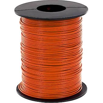 Strand 1 x 0.14 mm² Orange BELI-BECO L118/100 og
