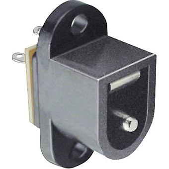 Low power connector Sleeve socket 6.4 mm 2.1 mm B