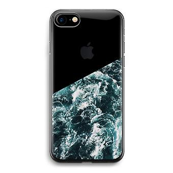 iPhone 7 Transparent Case - Ocean Wave