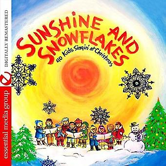 40 barn Singin ' vid jul - Sunshine & snöflingor [CD] USA import