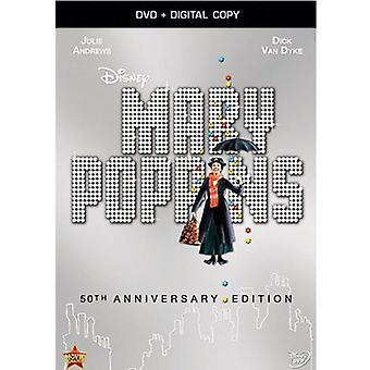 Mary Poppins: 50th Anniversary Edition [DVD] USA import
