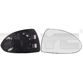 Right Mirror Glass (heated) & Holder For OPEL CORSA E 2014-2018