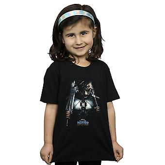 Marvel Girls Black Panther Killmonger Poster T-Shirt