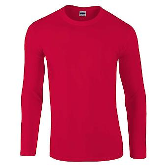 Gildan Mens Softstyle Long Sleeve Ultra Cotton Crew Neck T-Shirt