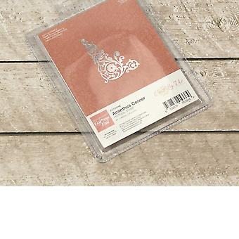 Couture Creations Ultimate Crafts Hotfoil Stamp Acanthus Corner