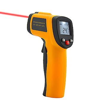 Non-Contact Infrared Thermometer with Laser Targeting and LCD Display