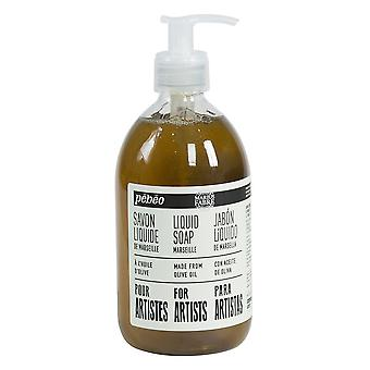 Pebeo Olive Oil Liquid Hand Soap for Artists 500ml (Unscented)