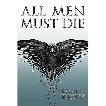 Game of Thrones (All Men Must Die) maxi poster