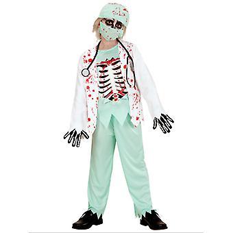Disfraz de Doctor Zombie niño