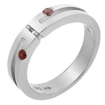 Orphelia Silver 925 Ring Diamond Col/Sto  ZR-3431