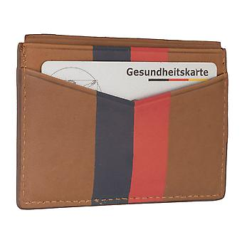 FOSSIELE mannen creditcard houder kaart houder leergeval 6563