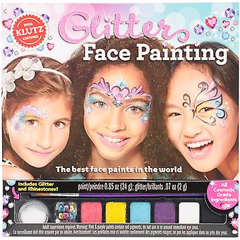 Glitter Face Painting Book Kit