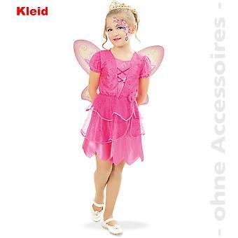 Costume da fata fiore bambini Elf Elf costume costume di bambino fata rosa Pink Lady