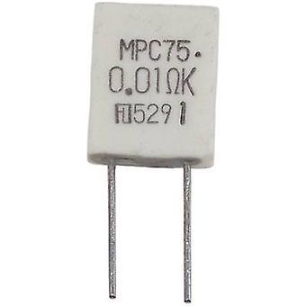 Fukushima Futaba MPC74 5W 0,1 Ohm 5 % Metallfilm Widerstand 0,1 Ω radiale Führung MPC74 5 W 5 % 1 PC