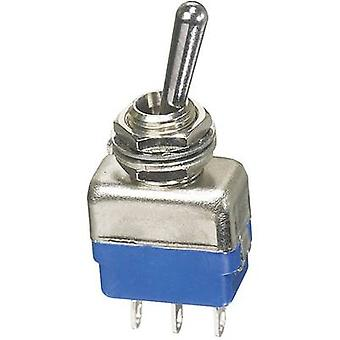 APEM 11137A Toggle switch 250 V AC 2 een 1 x (On)/Off/(On) kortstondige/0/kortstondige 1 PC('s)