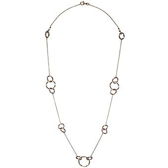 Necklace necklace 925 sterling silver gold plated chain 70 cm