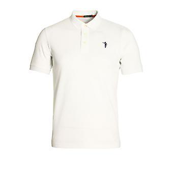 JOHAN CRUYFF Maestro SS Polo Shirt | White