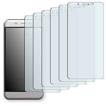 Archos 50 cobalt screen protector - Golebo crystal-clear protector (deliberately smaller than the display, as this is arched)