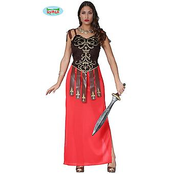Roman Gladiator Fighter Costume dress antique ladies one size
